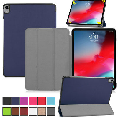 For Apple iPad Pro 11'' 10.5'' Inch 2018 Leather Magnetic Smart Folio Stand Case