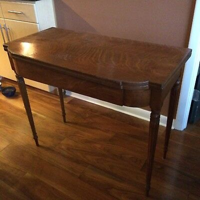 REDUCED - Antique Game Table with swivel top!!