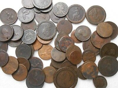 Great Britain Old Copper Coins - 2