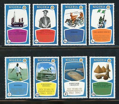 Nigeria   MNH 10 Years of Independence