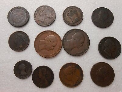 Great Britain Old Copper Coins - 3
