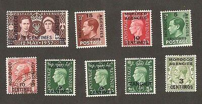 GREAT BRITAIN / UK Morocco Agencies Mint Good Lot