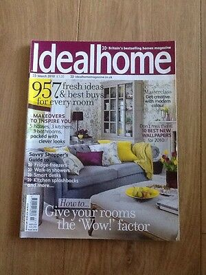 Ideal Home Magazine March 2010