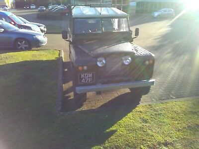 LAND ROVER SERIES 2a 109 TDI