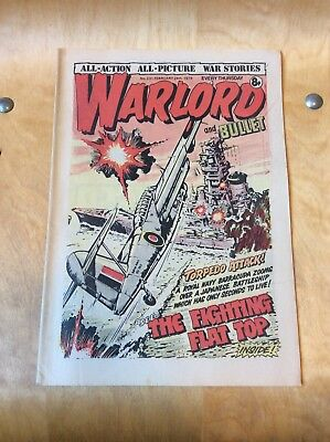 Warlord And Bullet Comic....issue 231....from 1979.