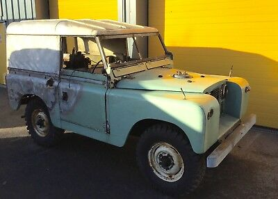 Land Rover Series 2 1959 88inch 2.25 petrol