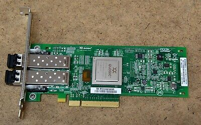 HP AJ764-63002 8 GB Dual-port PCI-E Fibre Channel HBA / QLogic QLE2562