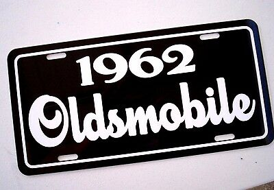 1962 Oldsmobile license plate tag 62 Olds Starfire f-85 Dynamic Super 88 Delta