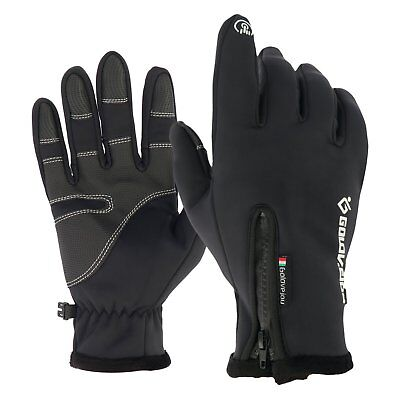 Men Women Winter Cycling Outdoor Glove Touch Screen Waterproof Warm Gloves M-XXL
