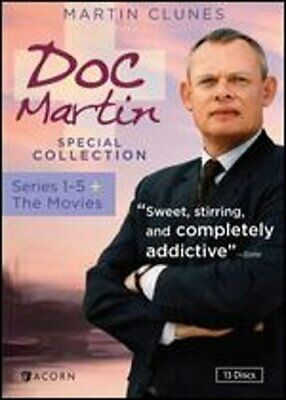 Doc Martin Special Collection: Series 1-5 + Movies [13 Discs]: Used