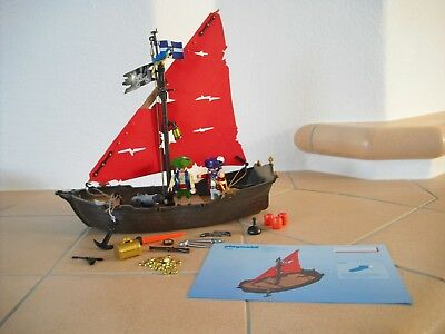 Playmobil Piraten - 4444 - Kanonensegler - Schiff - Piratenschiff - TOP