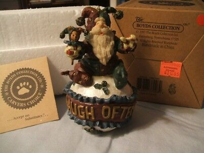 Boyds Bears Carvers Choice 1st EDITION JestaNick 'Laugh Often' Ornament 1E/2489