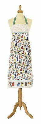 Cat Lovers Cotton Apron Catwalk Ulster Weavers Cooking Gifts BNWT Colourful