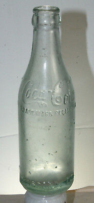Hosford Fla Coca Cola Straight Side Bottle