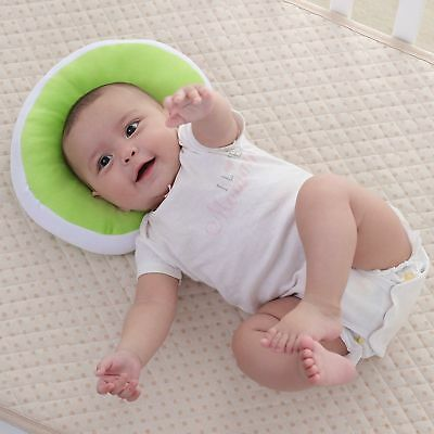 KAKIBLIN Baby Pillow Anti-flat Head Syndrome Ultra Soft Memory Mawata - Green