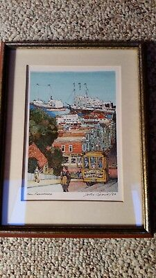 Franklin Mint The World's Most Romantic Cities - San Francisco lithograph