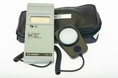 A.W. Sperry SLM-110 Digital Light Meter with Case (4992)