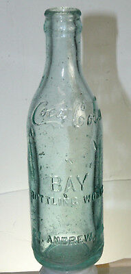 St Andrew Fla Coca Cola Bottle Straight Side