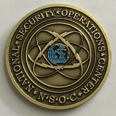 NSA National Security Agency NSOC Nat'l Security Ops Ctr Team 4 SIGINT Coin