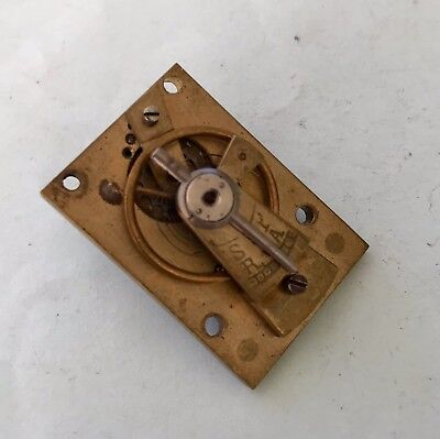 Clock makers clock carriage clock platform escapement good balance