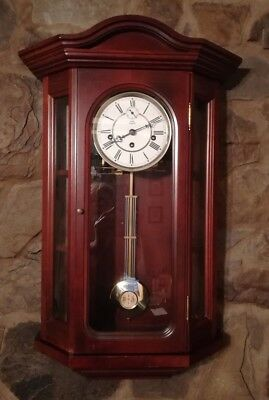 Dold Exquisit 3 Train Westminster Chime Wall Clock - GWO