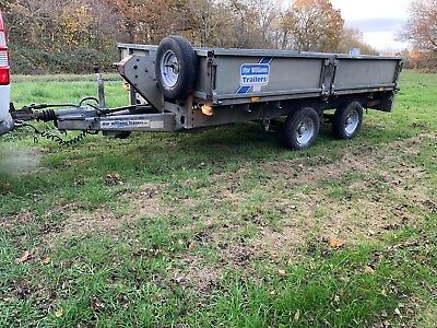 Ifor Williams lm126 3500kg Trailer drop side plant tractor Dumper ramps