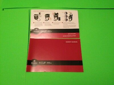 Set of Two Keurig Mini Manuals- 1 Quick Start Guide & 1 Care & Maintenance Guide