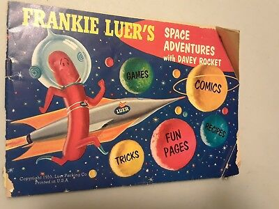 Rare Antique Frankie Luers space adventures with Davey Rocket comic book