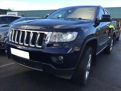 12 Jeep Grand Cherokee Crd 3.0 Overland - Nav, Leather, Pan Roof, 1F/rec Owner