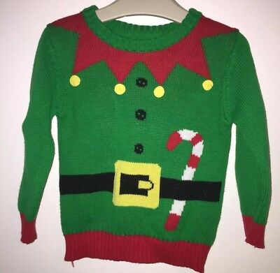Boys Age 12-18 Months - Christmas Jumper