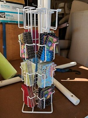 16 Adjustable Pockets Greeting Card Rack Post Card Display