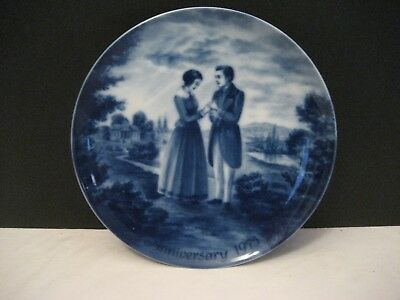 Kaiser Anniversary Plate 1975 Designed by K Baner Made in West Germany
