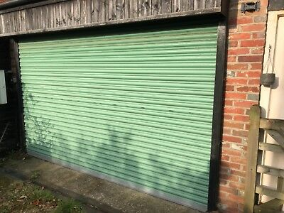 Electric roller shutter doors used. Good condition.opening 3700Wx 2160 H