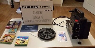Chinon 2000 GL Dual 8mm  Projector