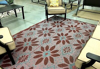 Reversible Outdoor Patio Rv Rug Mat 6 X9 Indoor Outdoor Rug 20195