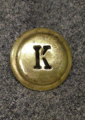 WWI Austro-Hungarian Kaiser Karl Cockade Button style in Brass