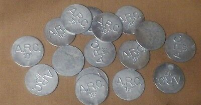WWI American Red Cross Canteen Token 1 Franc Great for Pocket Trash or Display