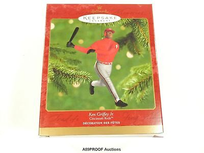 Hallmark Keepsake Ornament 2000 Ken Griffey Jr. Cincinnati Reds MLB Baseball 30