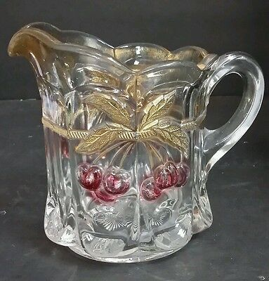 Mosser Hanging Cherry Glass Creamer