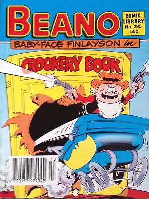 Beano Comic Library 295 Baby Face Finlayson in Crookery Book