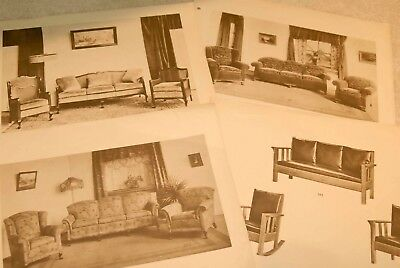 Salesman's Furniture Display Book Ads Early 20th Century