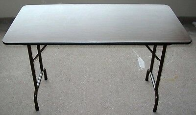 """24"""" X 48""""  Office Folding Table, Made In The Usa"""
