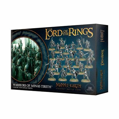 Warhammer Warriors of Minas Tirith The Lord of the Rings plastic new