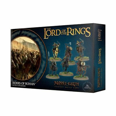 Warhammer Riders of Rohan The Lord of the Rings plastic new