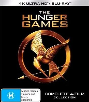 The Hunger Games: Complete 4-Movie Collection  - 4K Ultra HD