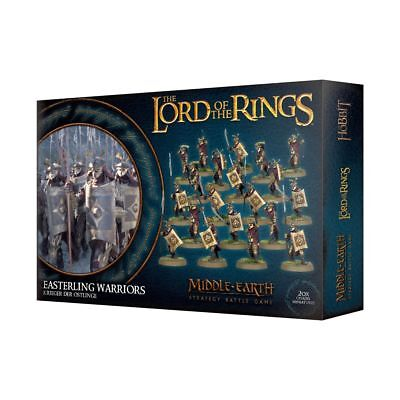 Warhammer Easterling Warriors The Lord of the Rings plastic new