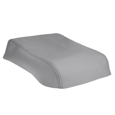 Center Console Leather Lid Armrest Cover for Toyota Highlander 08-13 Gray IN USA