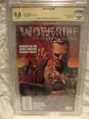 Wolverine #66  CBCS 9.8 (1st Old Man Logan) signed by Steve McNiven