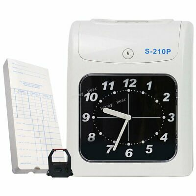 Kardex Electronic Employee Time Attendance Bundy Clock Recorder Time Cards