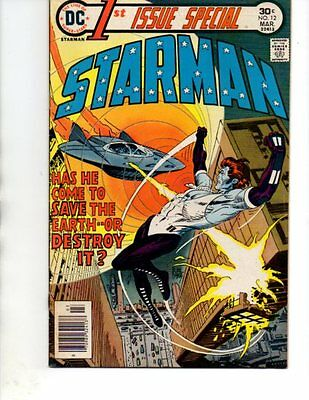 1st Issue Special # 12- STARMAN- VF+(DC 1976)